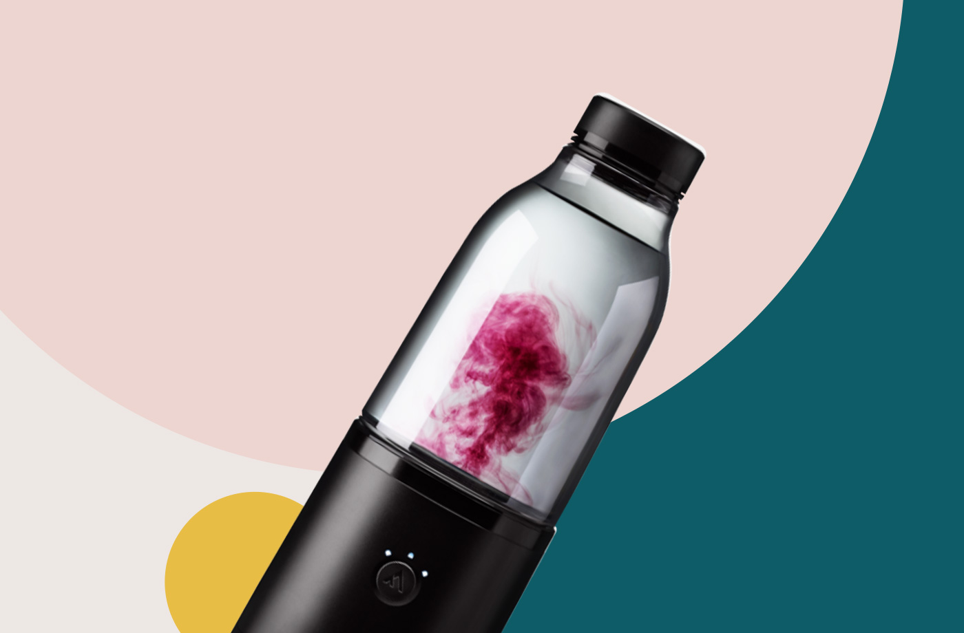 Thumbnail for The Coolest Water Bottle Around Is Your Own Personal Robot Mixologist for Sports Drinks