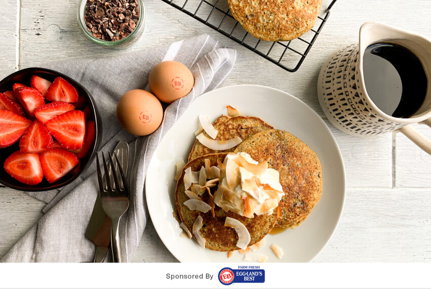 This 10-Minute Pancake Recipe Is Loaded With Good-For-You Nutrients