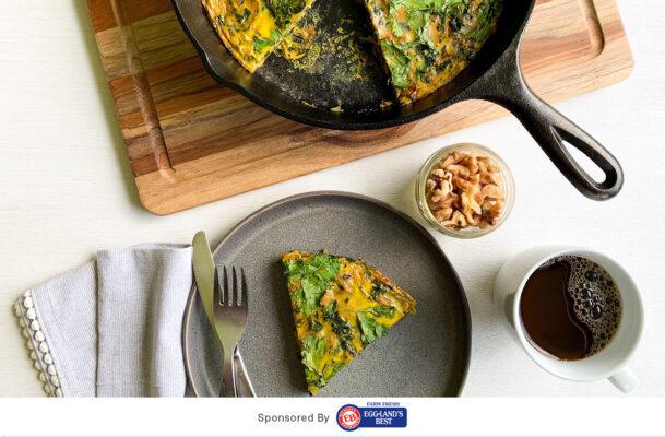 Cook Up This Green Persian Frittata (aka Kuku Sabzi) for an Immunity-Boosting Take on Breakfast-for-Dinner