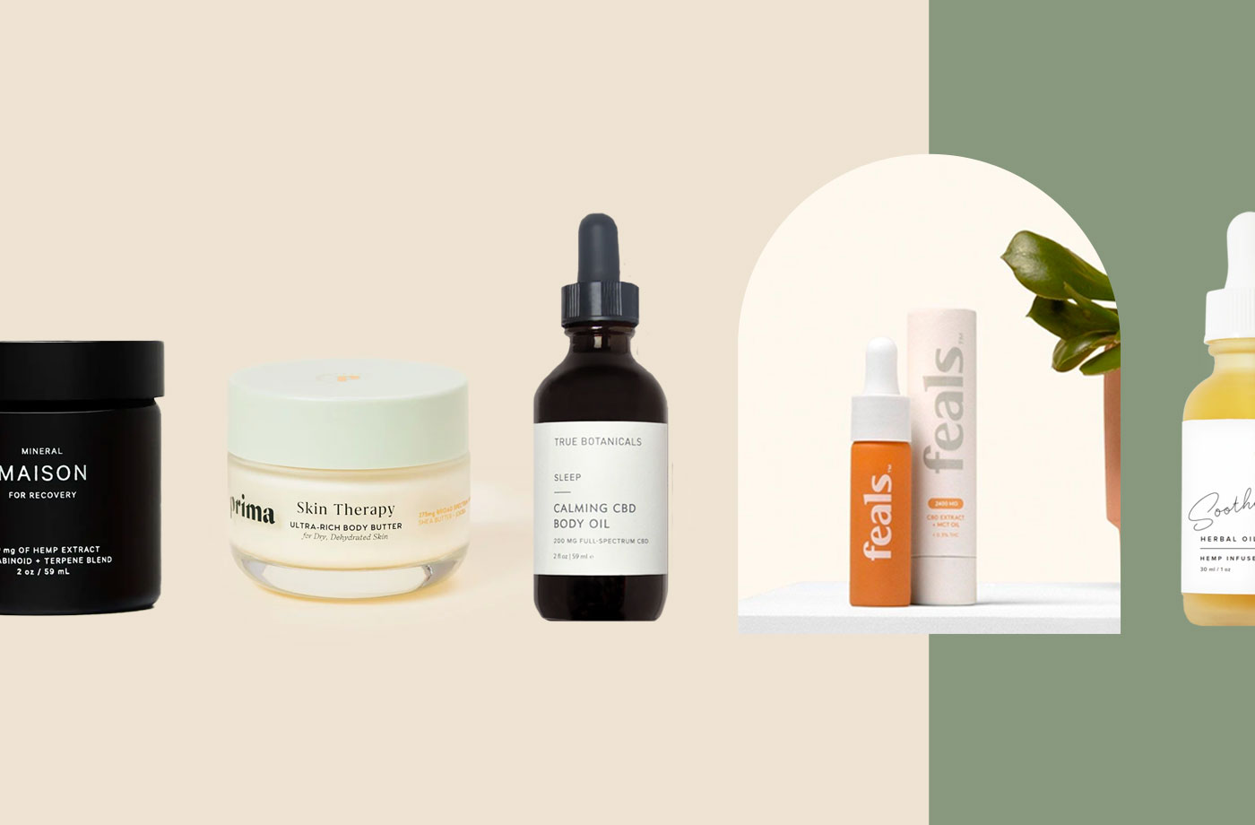 The 20 CBD Products Well+Good Editors Can't Get Enough of Right Now