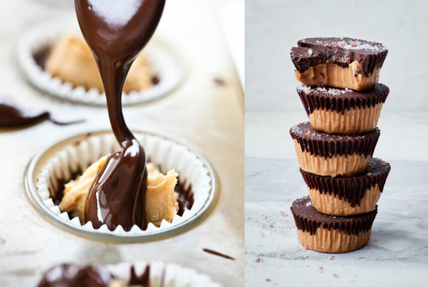 These Easy Healthy Peanut Butter Cups Taste Even Better Than Your Childhood Faves