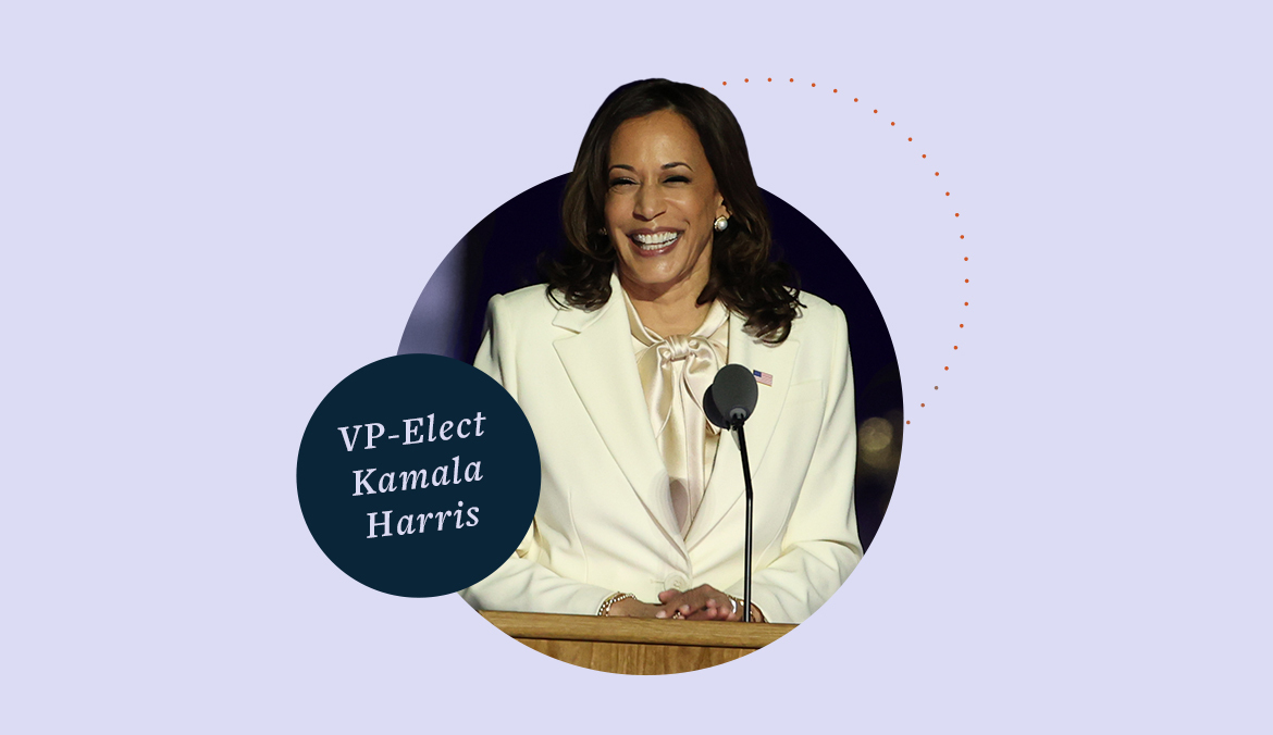 Thumbnail for Vice President-Elect Kamala Harris Is Making History—Here's How That Impacts Your Well-Being