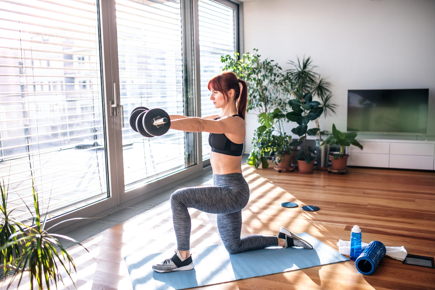 Thumbnail for 7 of the Best Adjustable Dumbbell Weights That Streamline Your At-Home Workouts