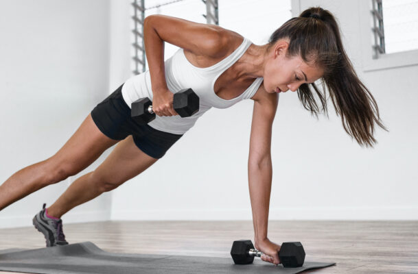 The Back Exercises With Dumbbells That Should Be Part of Every Full-Body Workout You Do