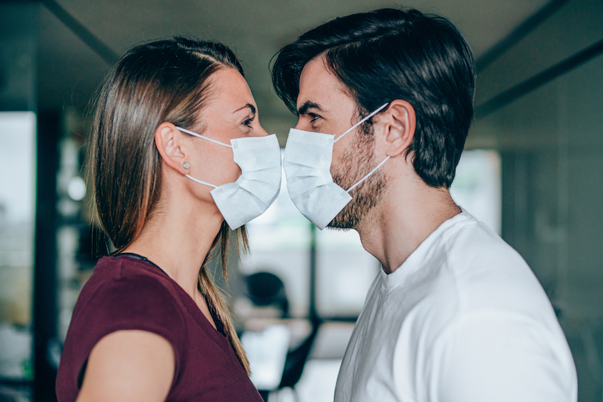 Thumbnail for Is Wearing a Mask During Sex Really Safer During a Pandemic? Here's What a Doctor Thinks