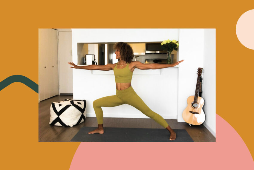This 20-Minute Yoga Flow for Strength Targets Your Tiniest Muscles