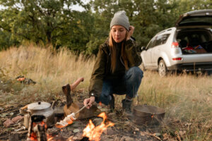 'I Go Camping Every Month, and This Is What You Need To Eat Well in the Great Outdoors'