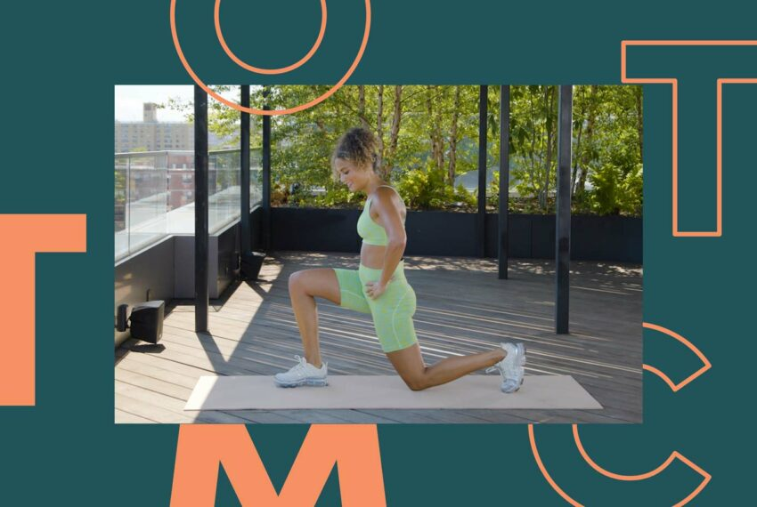 Cardio and Strength Training Collide in This Peachy 15-Minute Glute Workout
