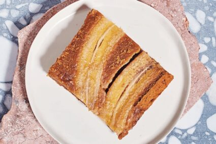 Upgrade Your #QuarCooking With This Upside-Down Avocado-Banana Cake