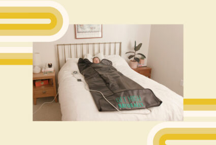 The HigherDOSE Infrared Sauna Blanket Lets You Sweat It Out… Anywhere