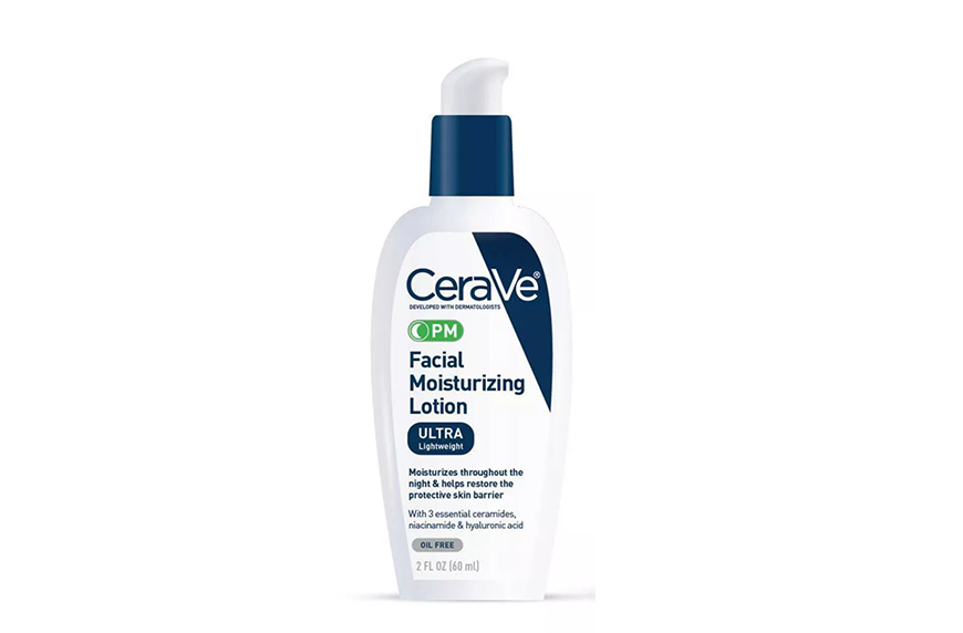 CeraVe PM Facial Moisturizing Lotion, best beauty products under $15