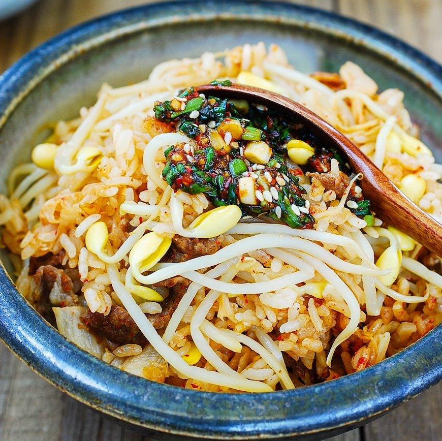 korean rice dish