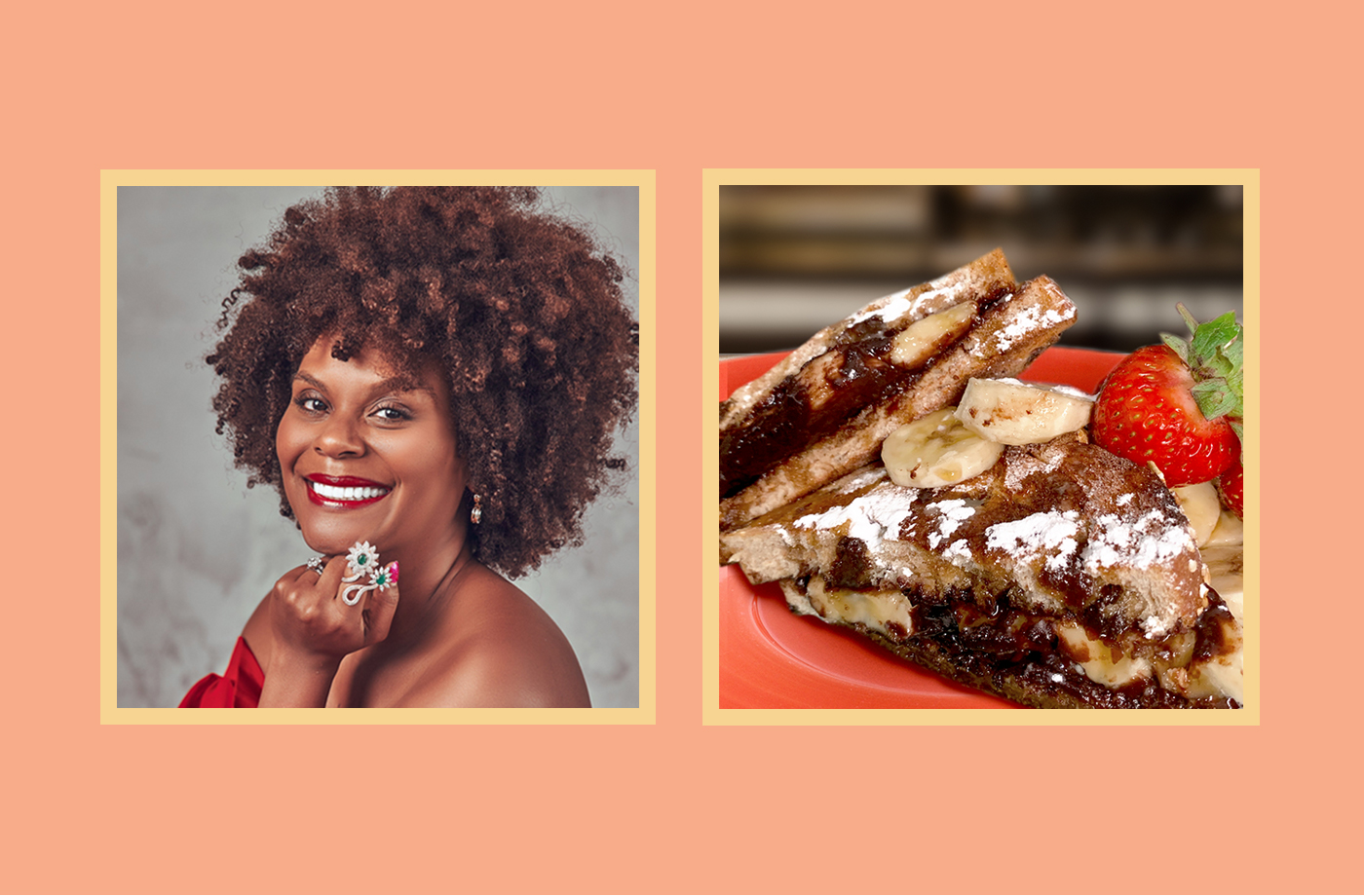Thumbnail for Tabitha Brown's Chocolate Banana Cinnamon Toast Is What I Want To Eat for Breakfast Every Day