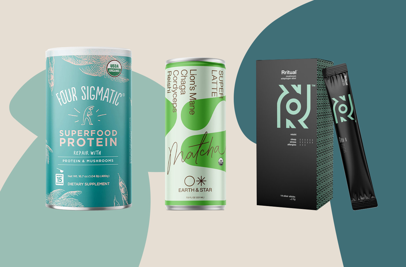 Thumbnail for These Brands Are Taking Functional Mushroom Drinks From Fringe to Mainstream