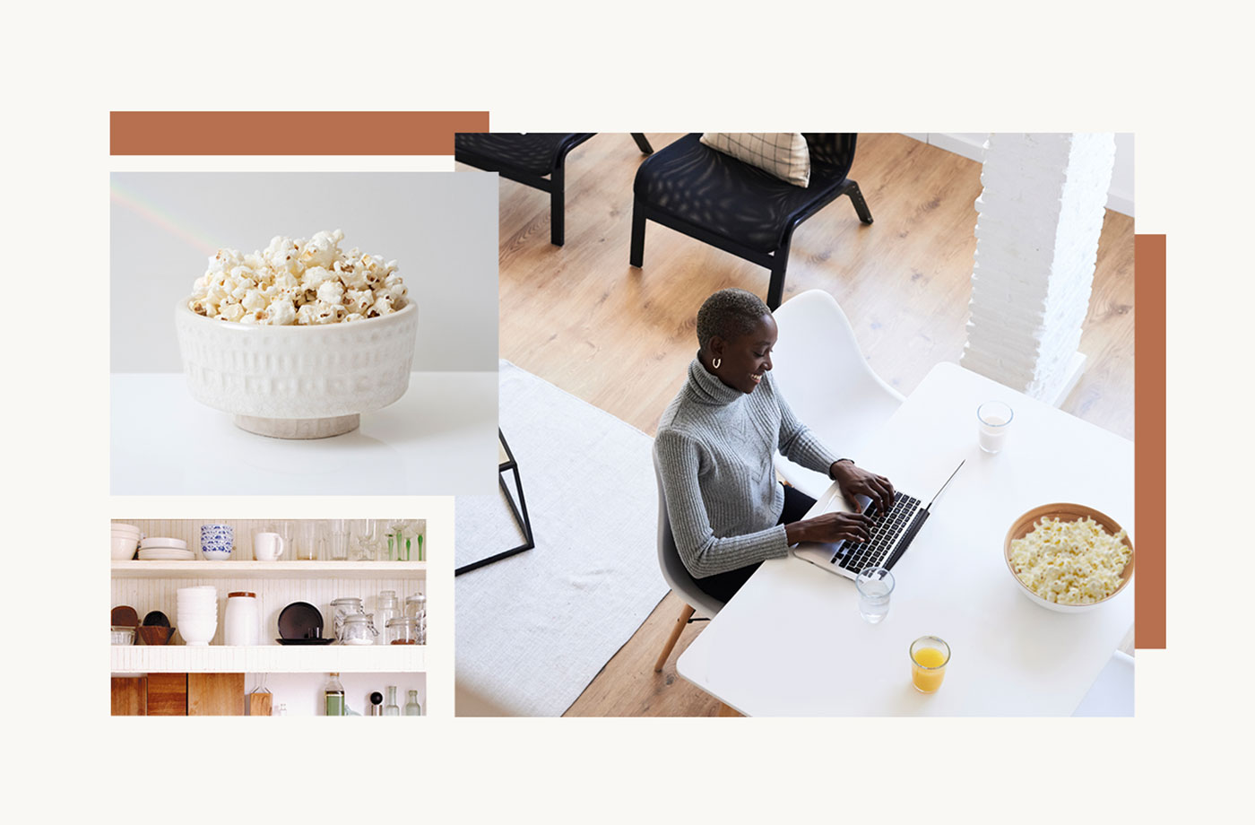 Thumbnail for Genius Idea: Turn a Corner of Your WFH Space Into a Snack Station That Will Rival Your Former Office's