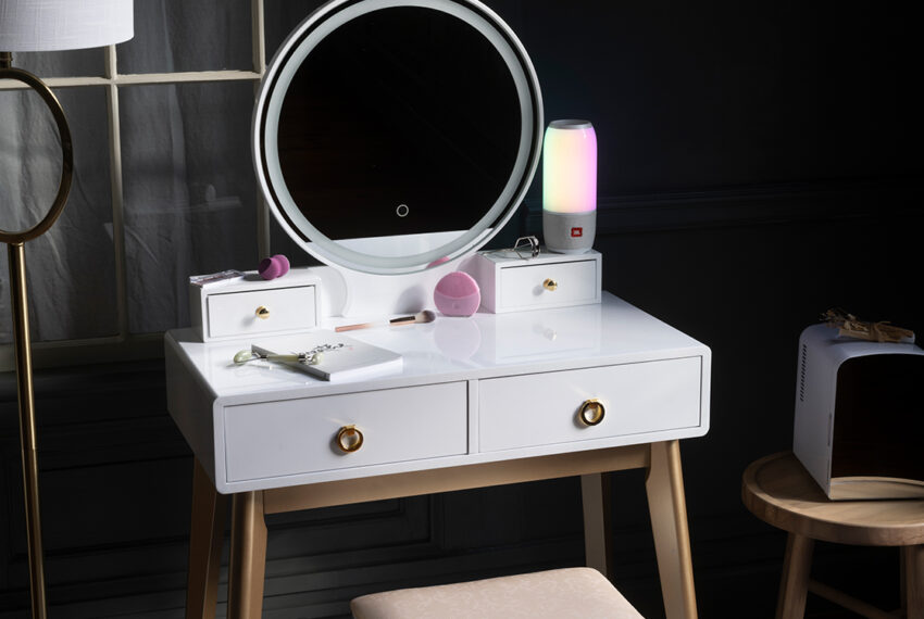 I Created a Vanity Space, and Now My Self-Care Routine is My Favorite Part of My Day