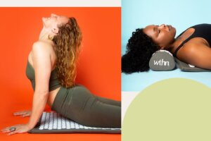 These Mats Give You Back Pain Relief and an Acupressure Massage at the Same Time