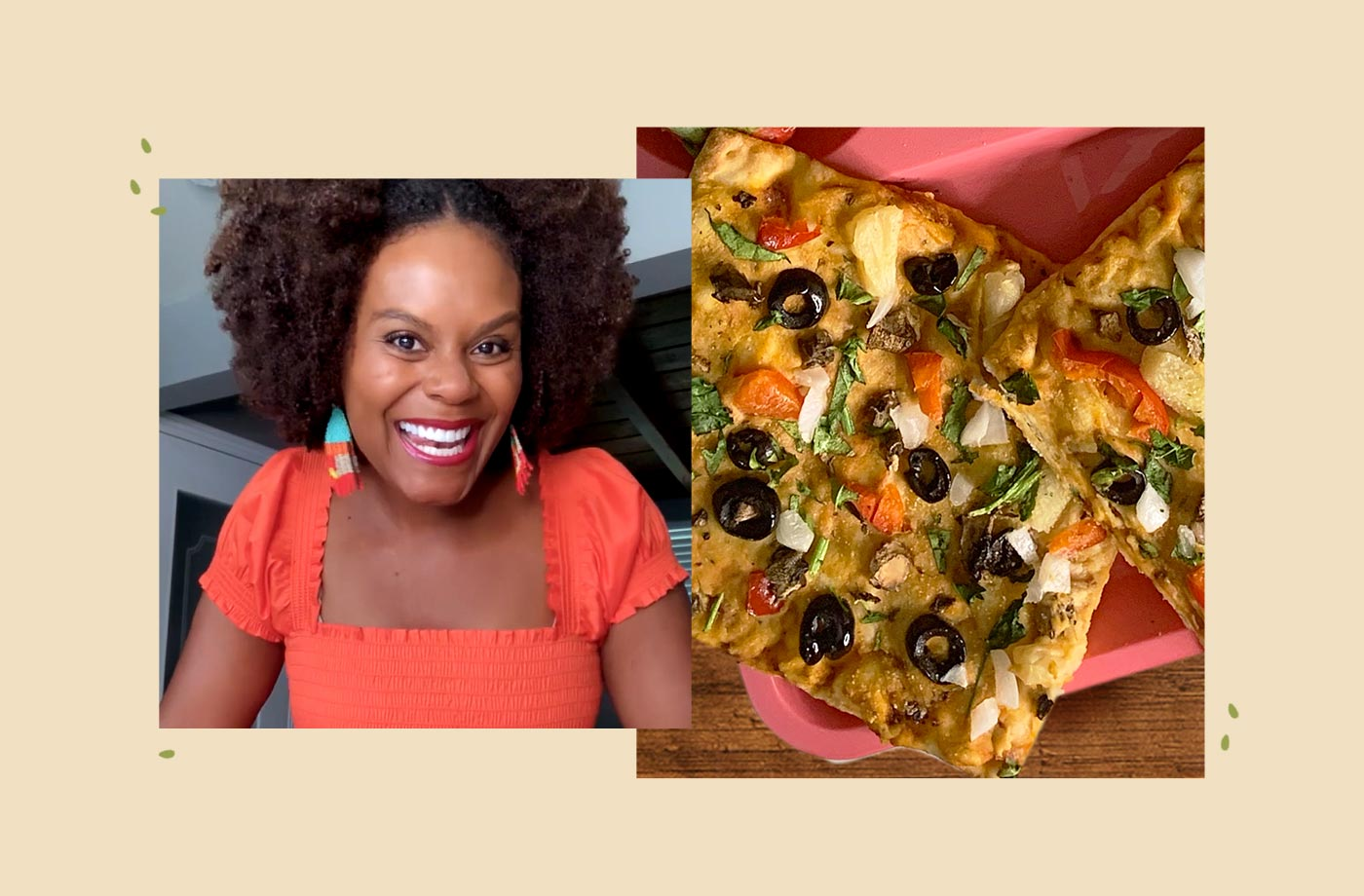 Thumbnail for Tabitha Brown Just Convinced Me That Hummus Is the Best Pizza Topping