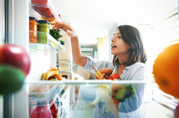 This Simple Refrigerator Hack Makes Food Waste a Thing of the Past
