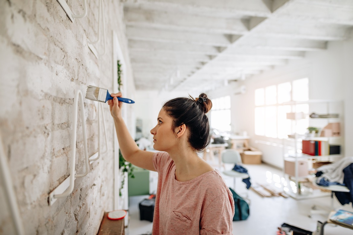 Thumbnail for The Best Low-VOC Paints To Use for Healthy Indoor Air, According to Allergy Experts