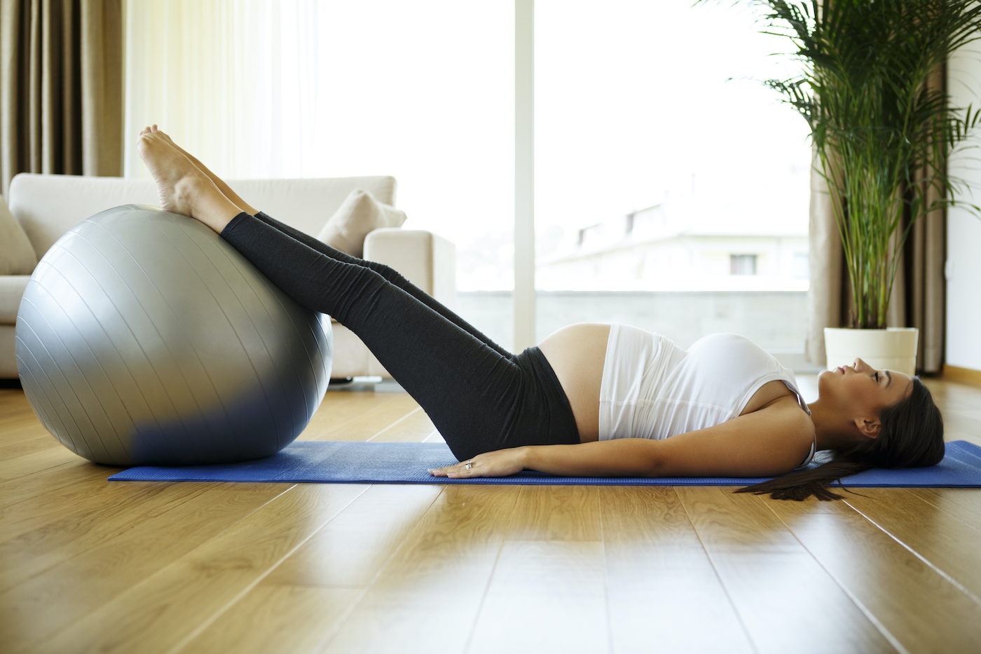 Thumbnail for 8 Prenatal Pilates Exercises to Practice From the Comfort of Your Own Home