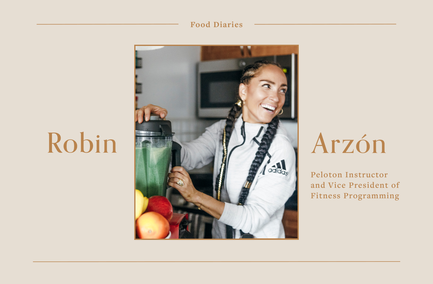Thumbnail for Peloton Instructor Robin Arzón Works Out for 2 to 4 Hours a Day—Here's What She Eats To Stay Strong