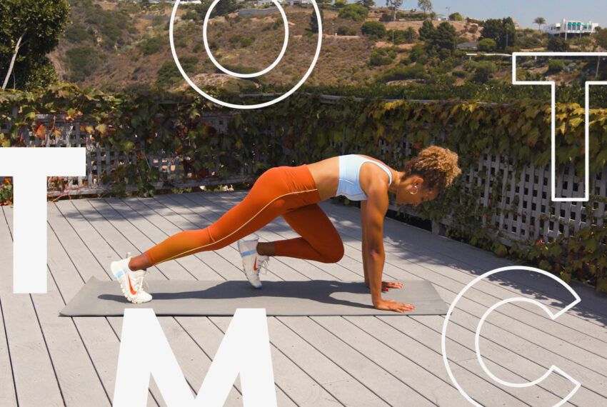 Improve Your Running Form With This Trainer-Approved, 5-Move Core Workout
