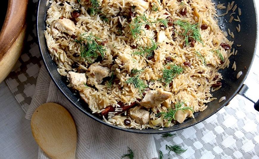 chicken and raisin recipe