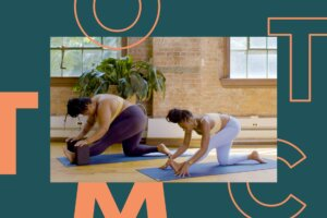 Here's a 'Juicy' Hip-Opening Yoga Flow—Because We Could All Use One Right Now