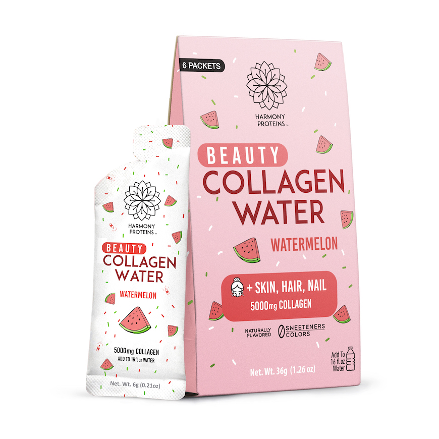 harmony proteins beauty collagen water