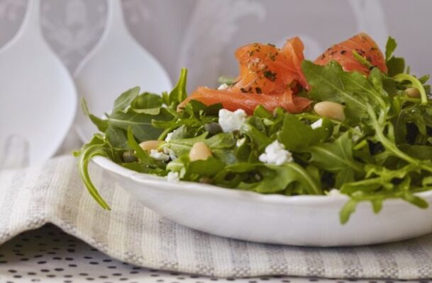 This Easy Smoked Salmon Salad Will Be Your New Favorite Way To Brunch at Home