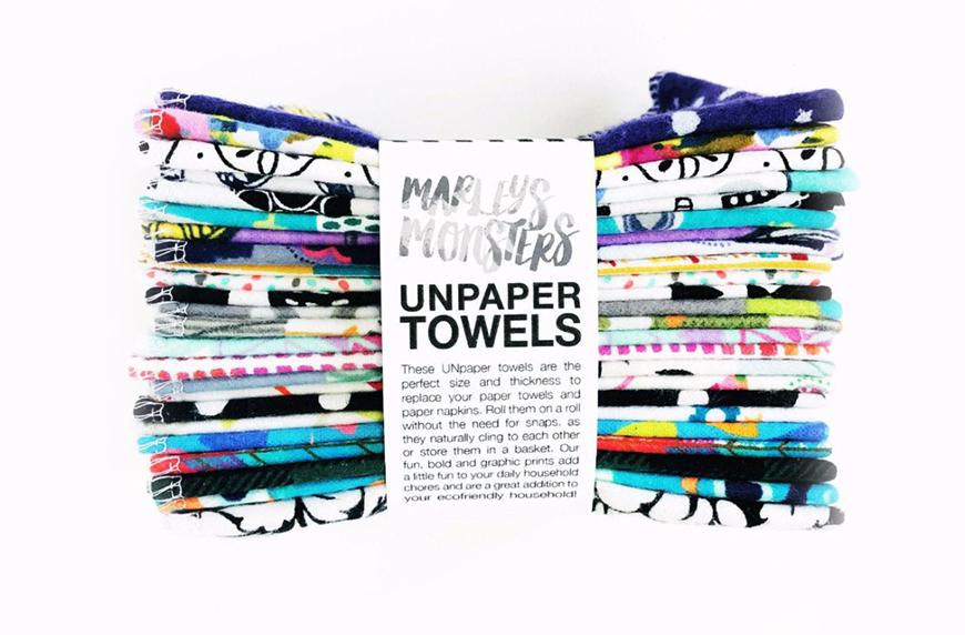 Marley's Monsters Unpaper Towels, paper towel shortage