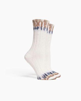 RIcher Poorer Tie Dye Socks