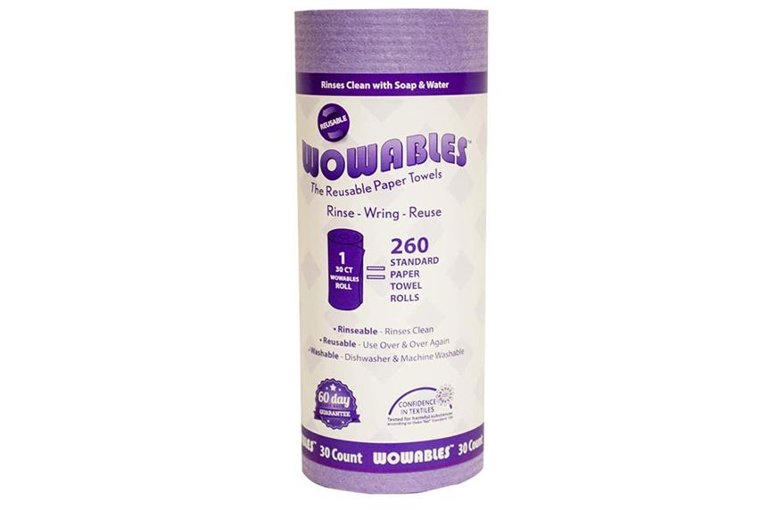 Wowables Reusable & Biodegradable Paper Towel, paper towel shortage