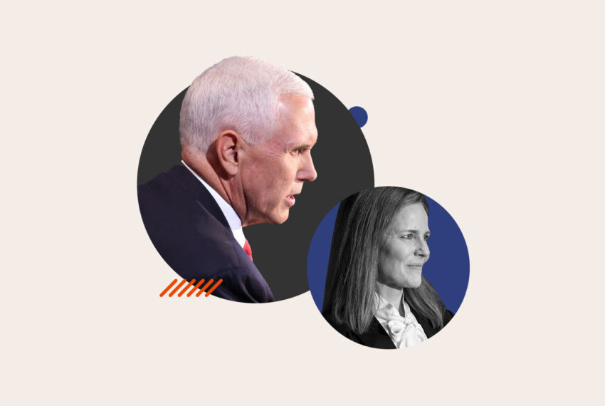Mike Pence Focusing on Amy Coney Barrett's Motherhood Is the Most Illuminating Moment of the VP Debate