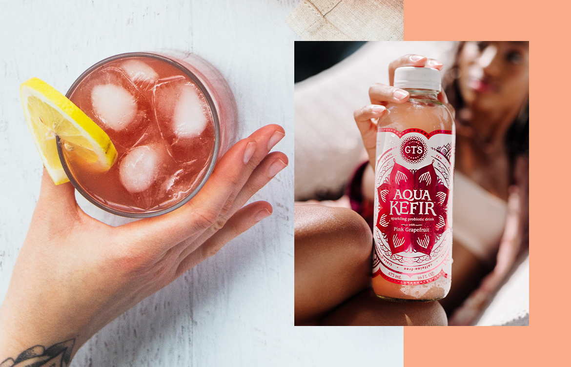 Thumbnail for I Can't Stop Drinking This Sparkling Beverage—And Thanks to All the Digestive Benefits, I Don't Have To