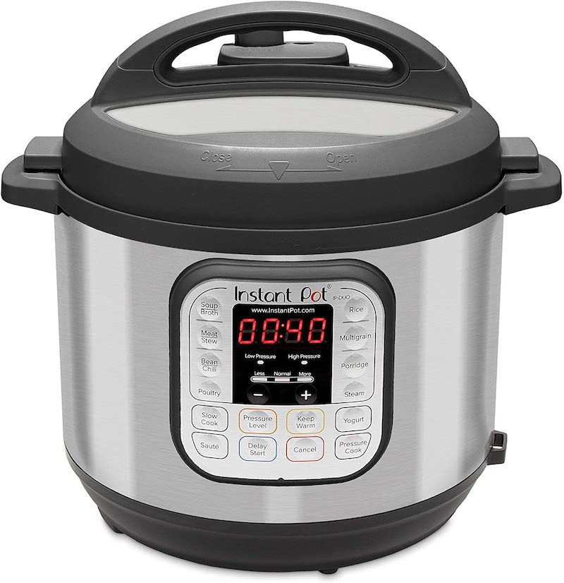 instant pot duo 6 quart pressure cooker