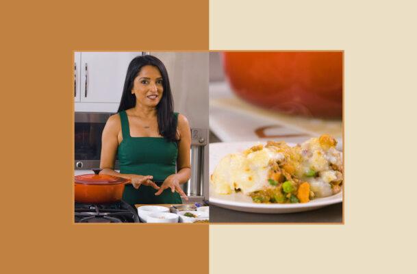 This Easy Vegan Shepherd's Pie Recipe Is Full of Delicious, Gut-Healthy Ingredients