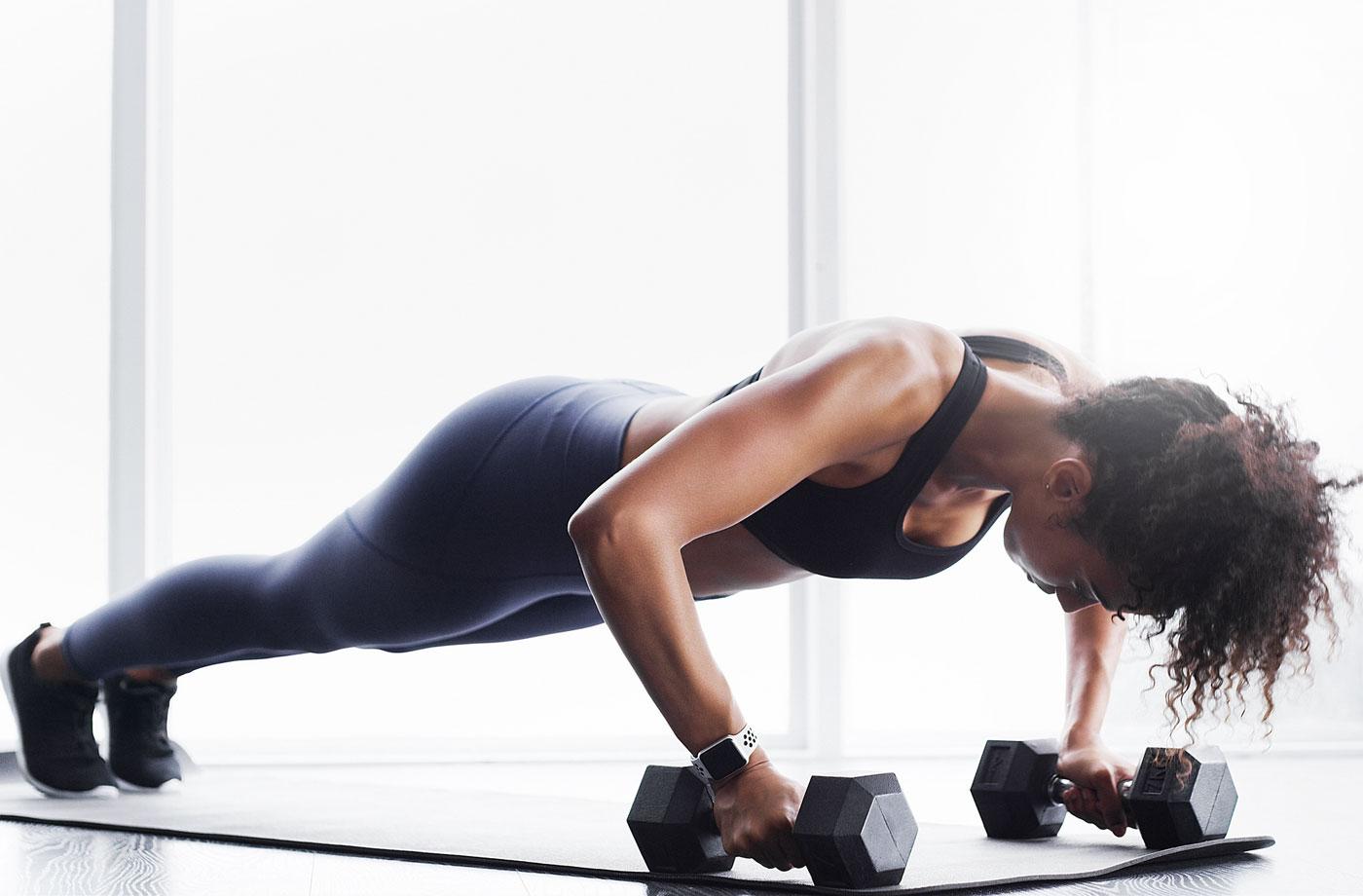 Easy Dumbbell Back Exercises | Well+Good