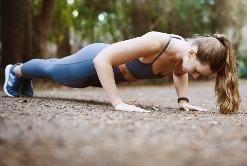 This Tiny Tweak Will Keep Your Push-Up Form Perfect Through the Very Last Rep