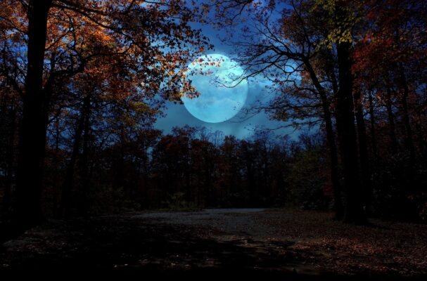 The Rare Halloween Full Blue Moon Has Life-Changing Energy—Here's What To Expect for Your Sign