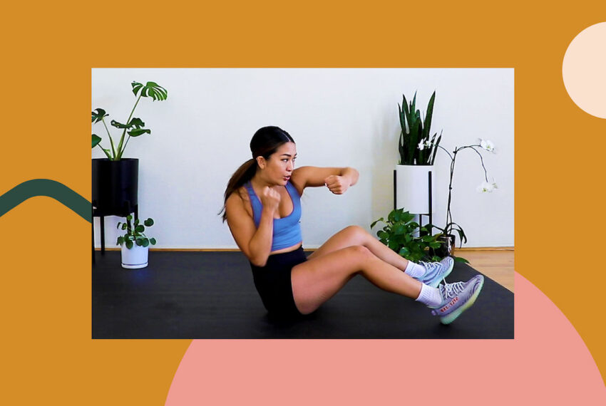 This 10-Minute Boxing-Inspired Core Workout Packs a Serious Punch