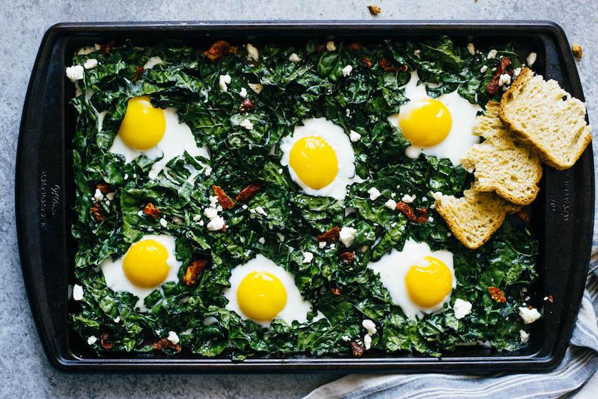 recetas de huevo en sartén
