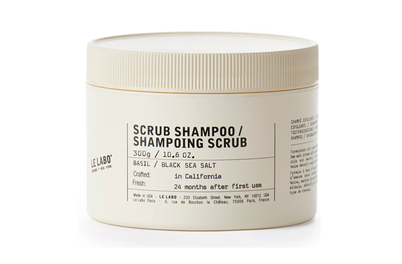 sea salt shampoo