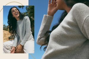 Allbirds Just Launched Its Clothing Line With Fabric Made From Discarded Crab Shells