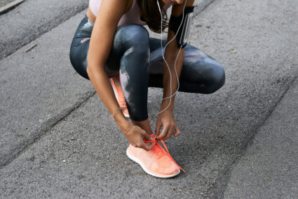 'I'm a Nike Master Trainer and Running Coach, and This Is What I Do To Soothe Foot Pain'