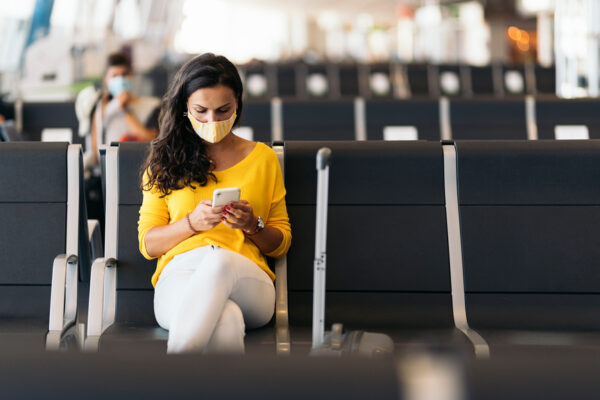 Some Airlines Offer COVID-19 Tests Before You Fly—But That Doesn't Make Your Flight 100% Safe