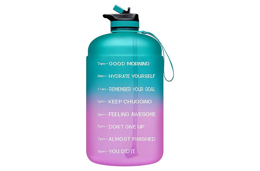 Venture Pal Large 1 Gallon Motivational Water Bottle