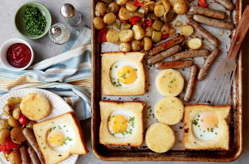 sheet-pan egg recipes