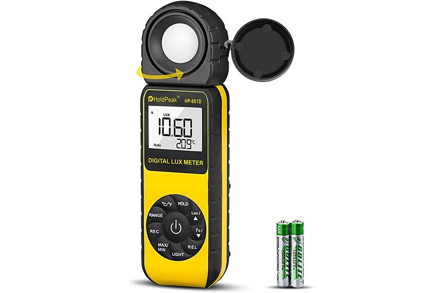Holdpeak Digital Light Meter, Amazon Prime Day plant deals